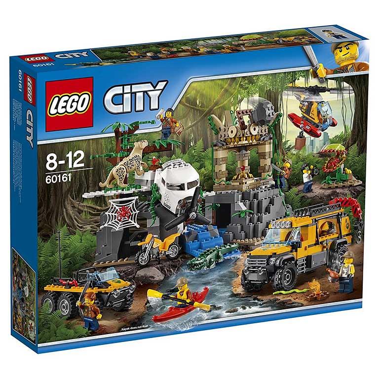 """60161 CITY """"База исследователей джунглей"""""""