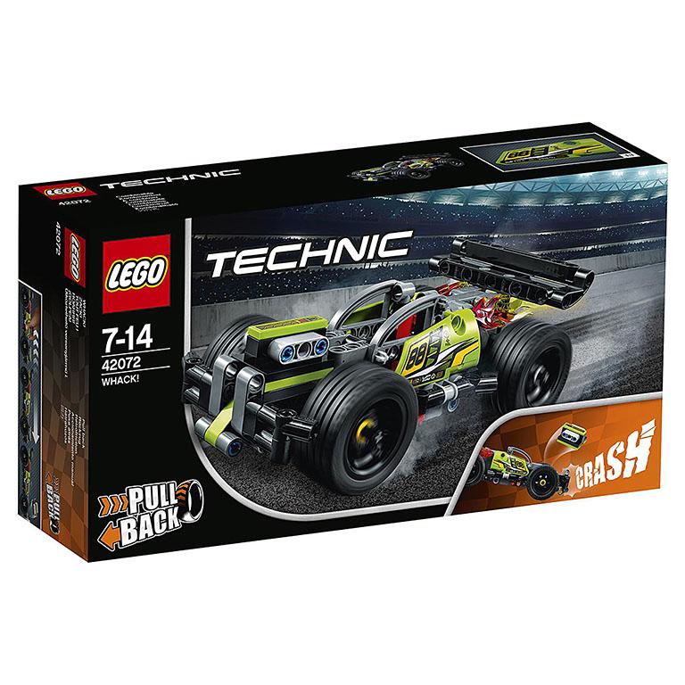 """42072 TECHNIC """"Зеленый гоночный автомобиль"""""""