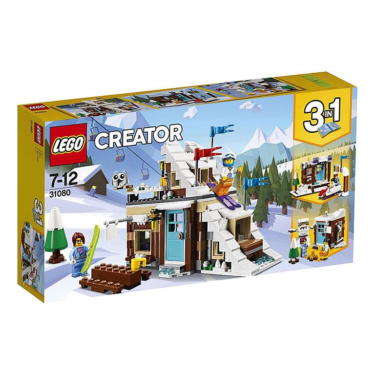 """31080 Creator """"Зимние каникулы"""" (модульная сборка)"""