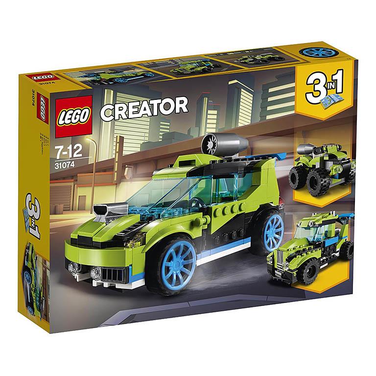 """31074 Creator """"Суперскоростной раллийный автомобиль"""""""