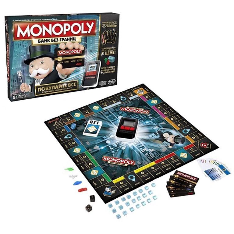 6677 Hasbro Монополия с банковскими картами
