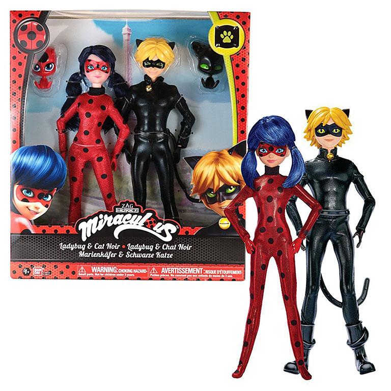 39810 Кукла 26см Леди Баг и Супер Кот