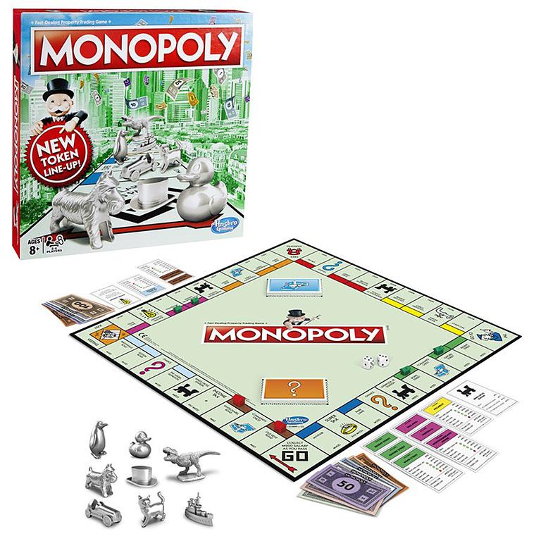 1009 Games классическая Монополия. Обновленная