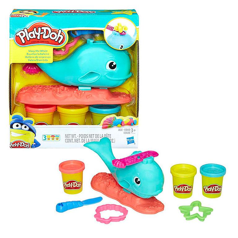 "0100 Play-Doh ""Забавный китенок"""