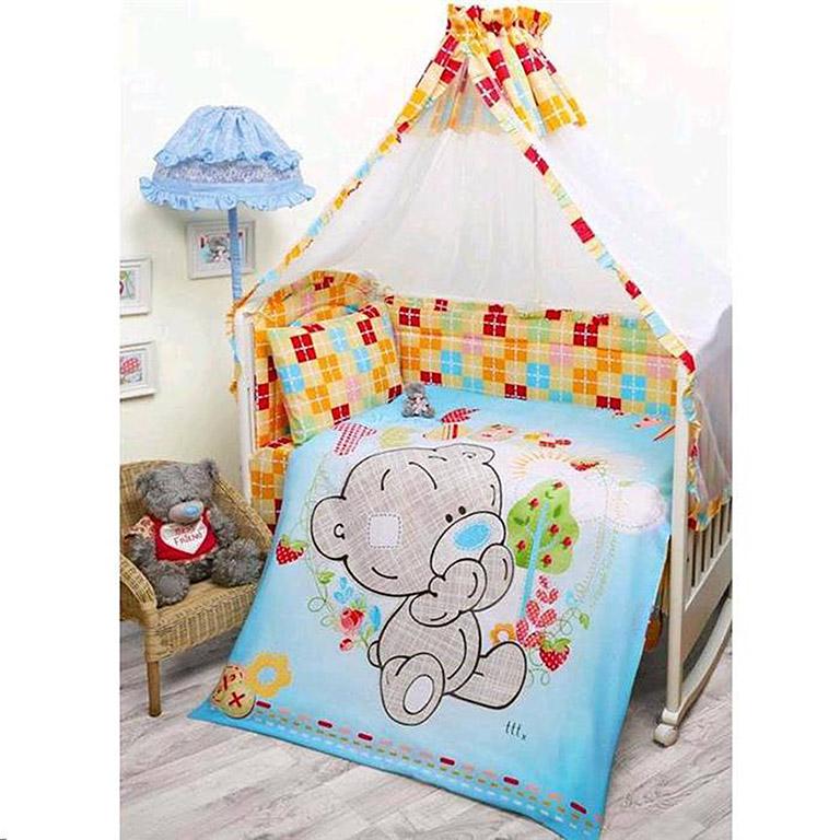 521203 Комплект в кроватку детский (Teddy baby) малыш