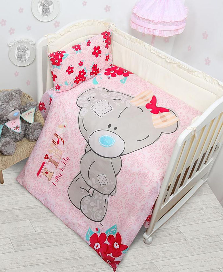 521104 КПБ детский (Teddy baby) н(1)40*60 девочка