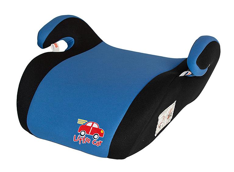 Бустер детский 22-36кг. Little Car Smart синий