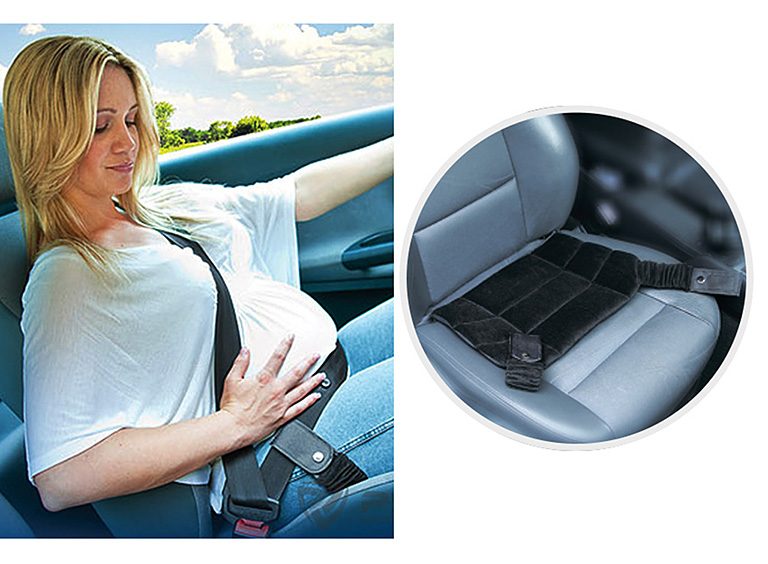 Адаптер ремня безопасности  PSV для беременных черный