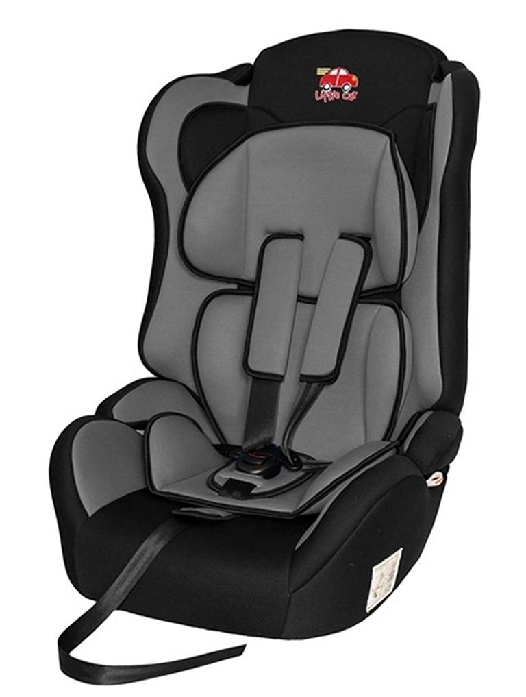 Автокресло детское 9-36кг. Little Car Comfort серый