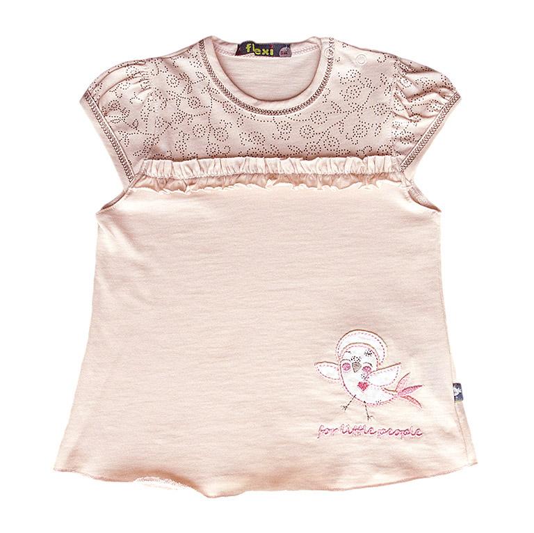FLEXI футболка интерлок дев 3697