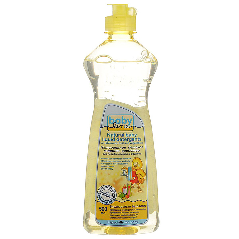 BABYLINE Моющее средство для посуды, овощей и фруктов, 500 мл