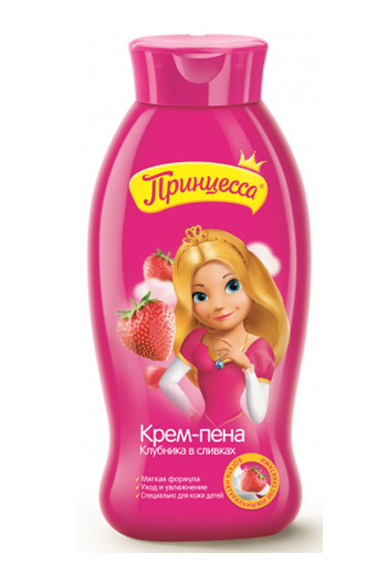 "Принцесса Крем-пена ""Клубника со сливками""400мл"