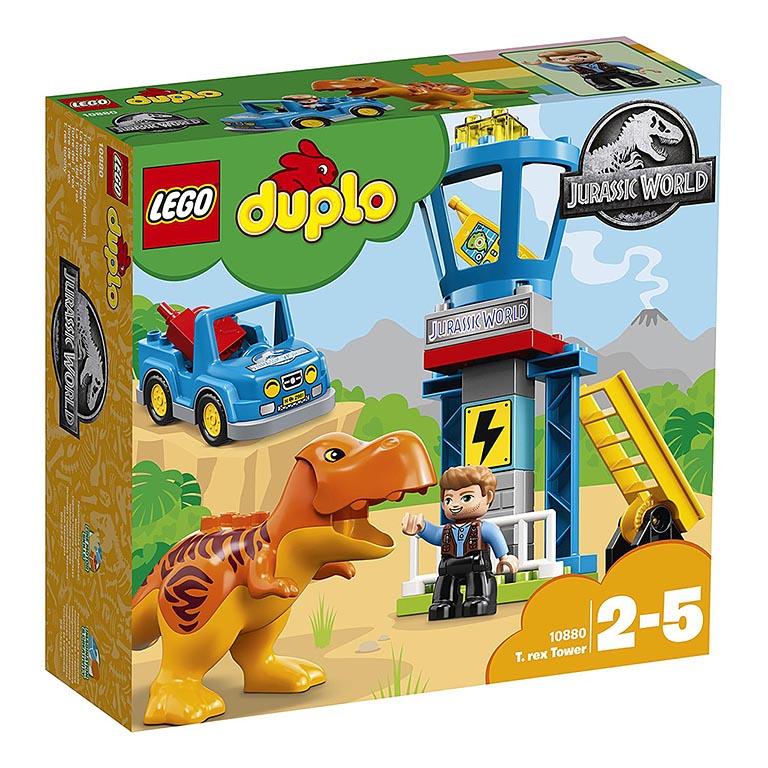"10880  DUPLO Jurassic World ""Башня Ти-Рекса"""