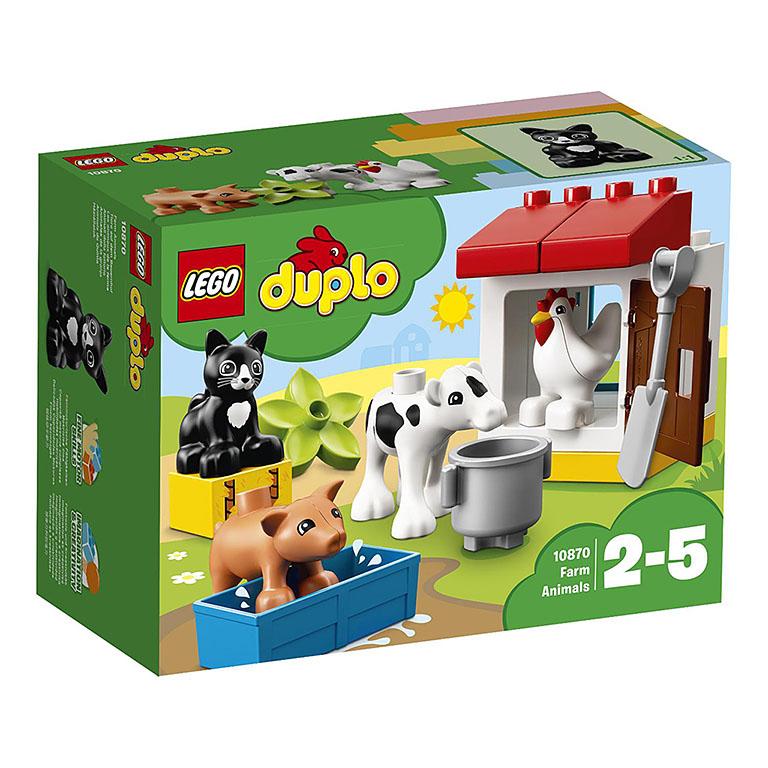 "10870 DUPLO ""Ферма: домашние животные"""