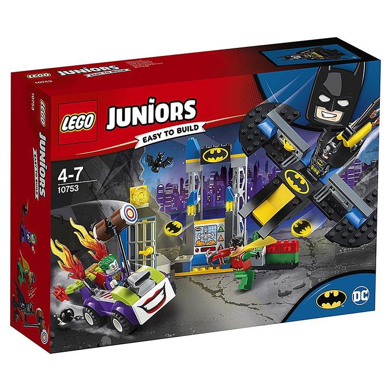"""10753 Juniors """"Нападение Джокера на Бэтпещеру"""""""