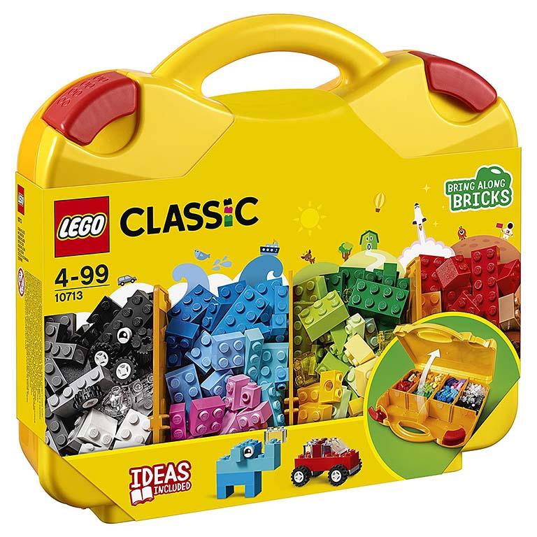 """10713 LEGO CLASSIC """"Чемоданчик для творчества и конструирования"""""""