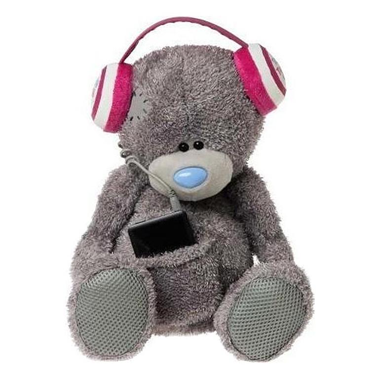 2855 Мишка Teddy Mysic с плеером MP3