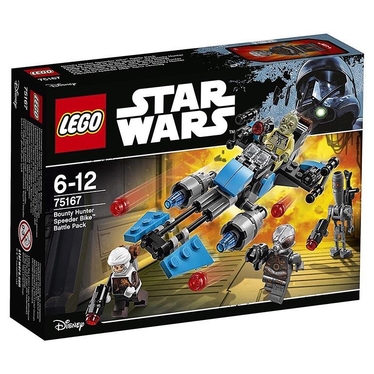 """75167 STAR WARS """"Спидер охотника за головами"""""""