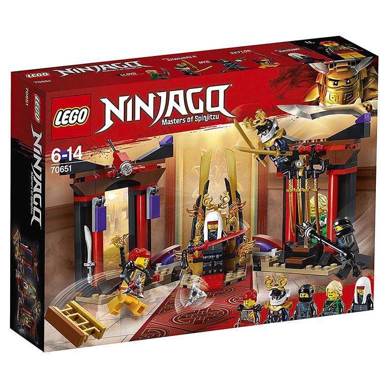 """70651 Ninjago """"Решающий бой в тронном зале"""""""
