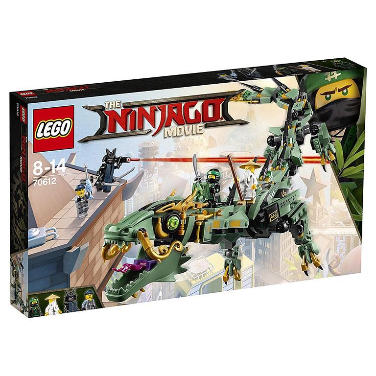 """70612 Ninjago """"Механический дракон Зеленого Ниндзя"""""""