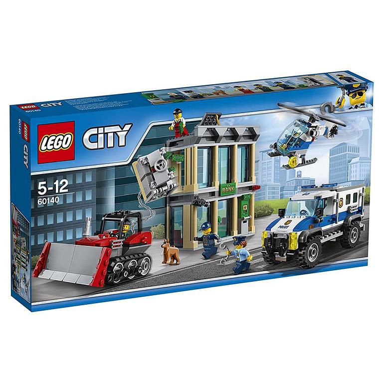 """60140 CITY """"Ограбление на бульдозере"""""""