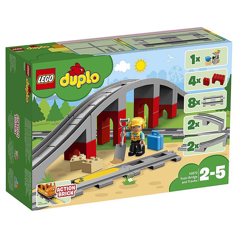 "10872 DUPLO ""Железнодорожный мост"""