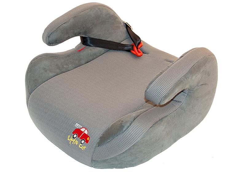 Бустер детский 15-36кг. Little Car 515 D серый