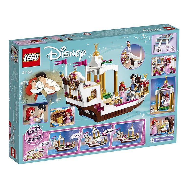 """41153 Disney Princess """"Королевский корабль Арэиль"""""""