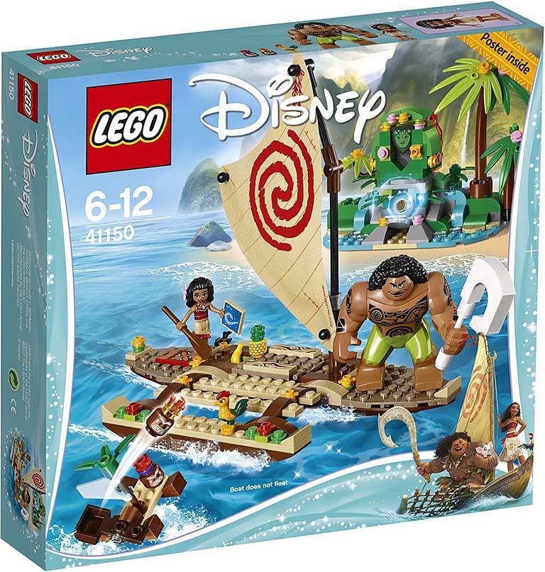 "41150 Disney Princess ""Путешествие Моаны через океан"""