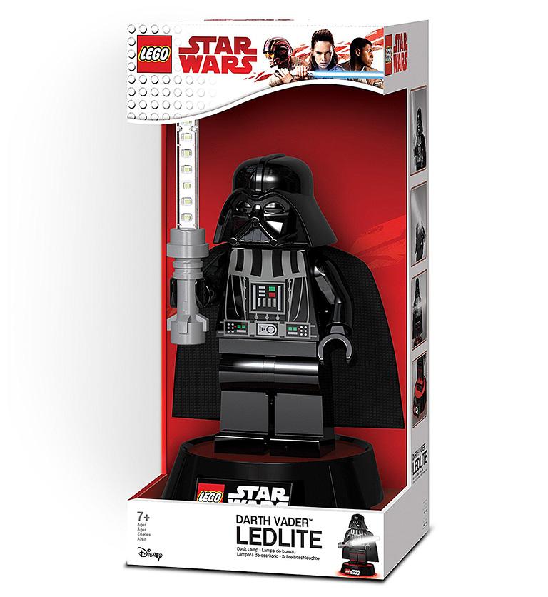 Настольная лампа LEGO Star Wars Дарт Вейдер
