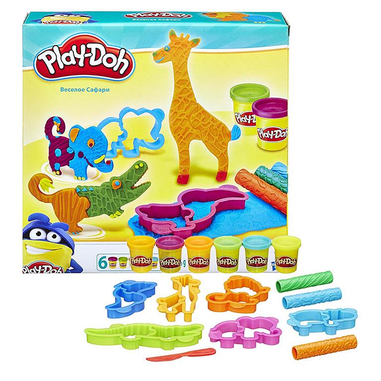 1168В Play-Doh Игровой набор Весёлые сафари