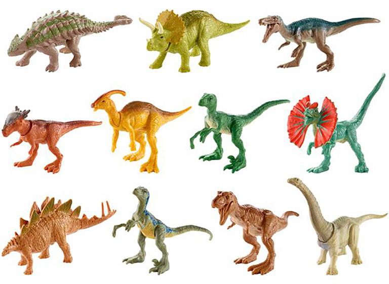 "FML69 JURASSIC WORLD ""Мини-динозавры в ассорт. """