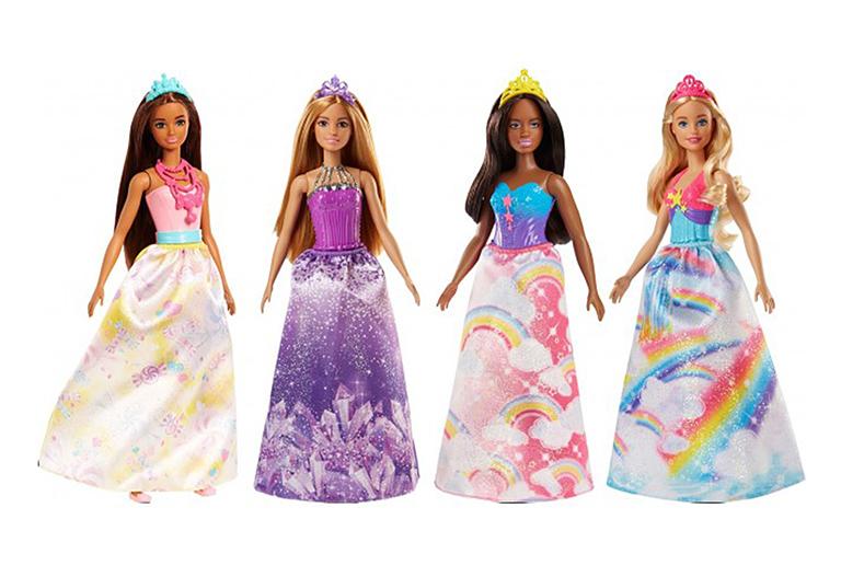 """FJC94 BARBIE """"Волшебные принцессы в асс."""""""