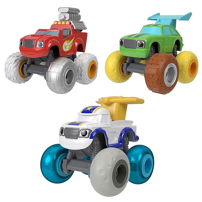 """FHV37 BLAZE """"Вспыш: Машинки с тюнингованными шинами в ассортименте"""""""