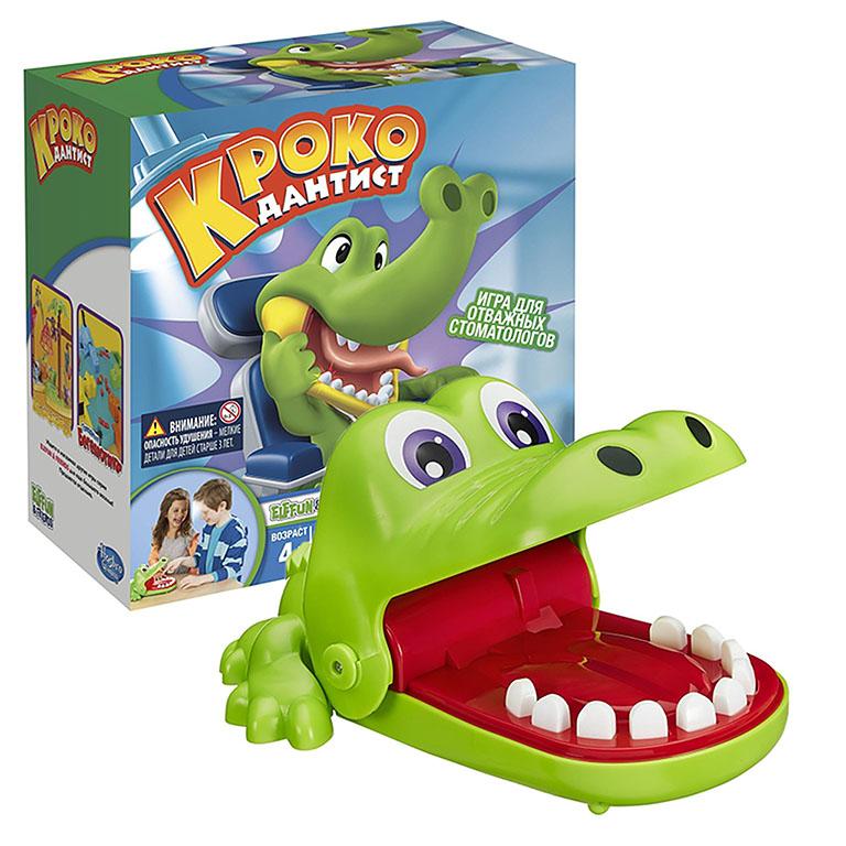 0408В Игрушка Крокодильчик Дантист