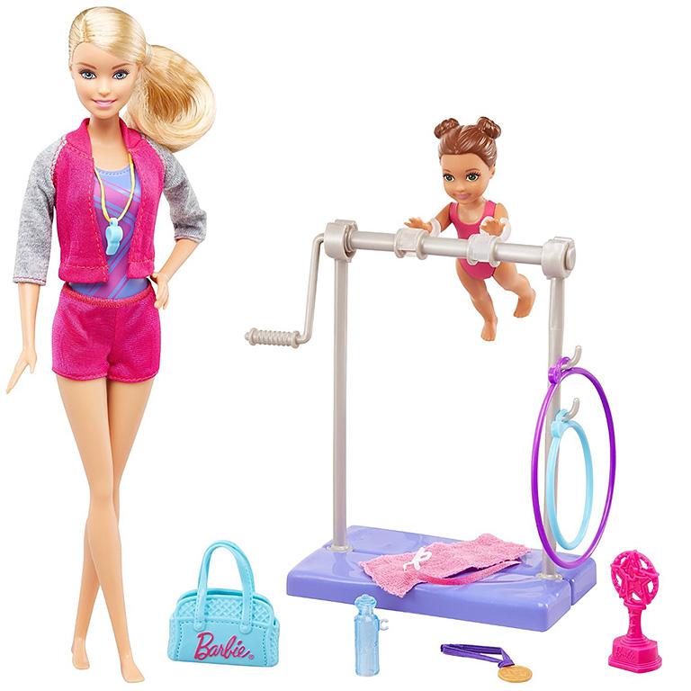 """DVG13 BARBIE """"Игровой набор «Барби-гимнастка»"""""""