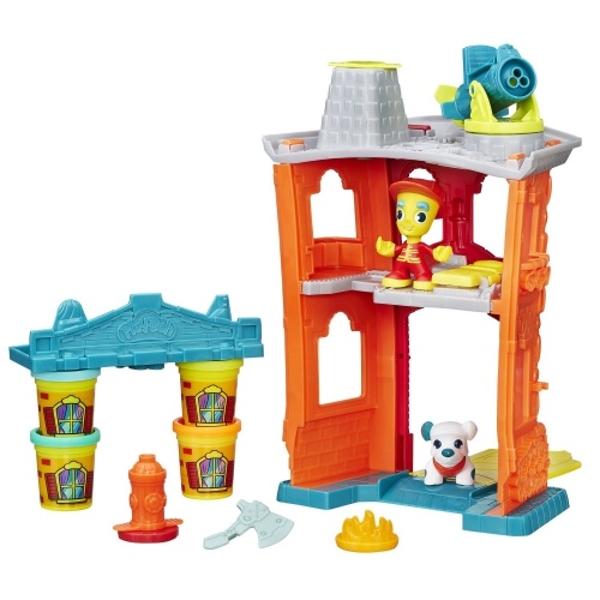 """Play-Doh B3415 Игровой набор  Город """"Пожарная станция"""""""