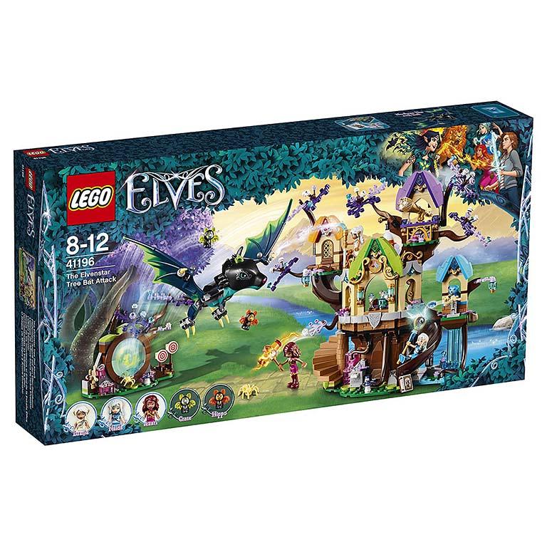 """41196 Elves """"Нападение летучих мышей на Дерево эльфийских звёзд"""""""