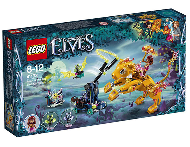 """41192 Elves """"Ловушка для Азари и огненного льва"""""""