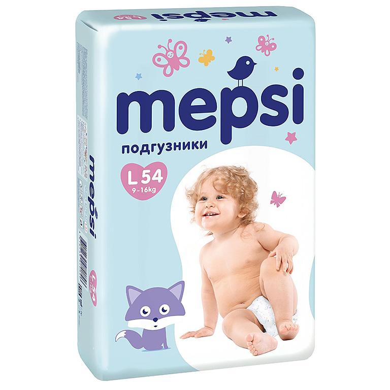 MEPSI Подгузник детский L 54шт