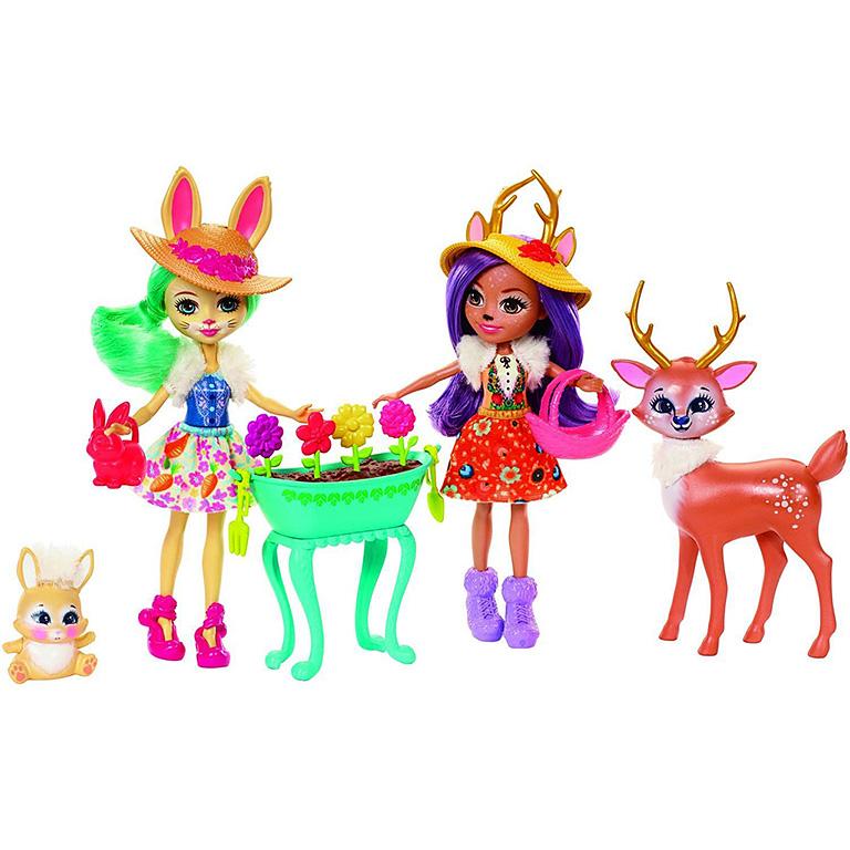 FDG01 ENCHANTIMALS Набор из двух кукол с любимыми зверюшками