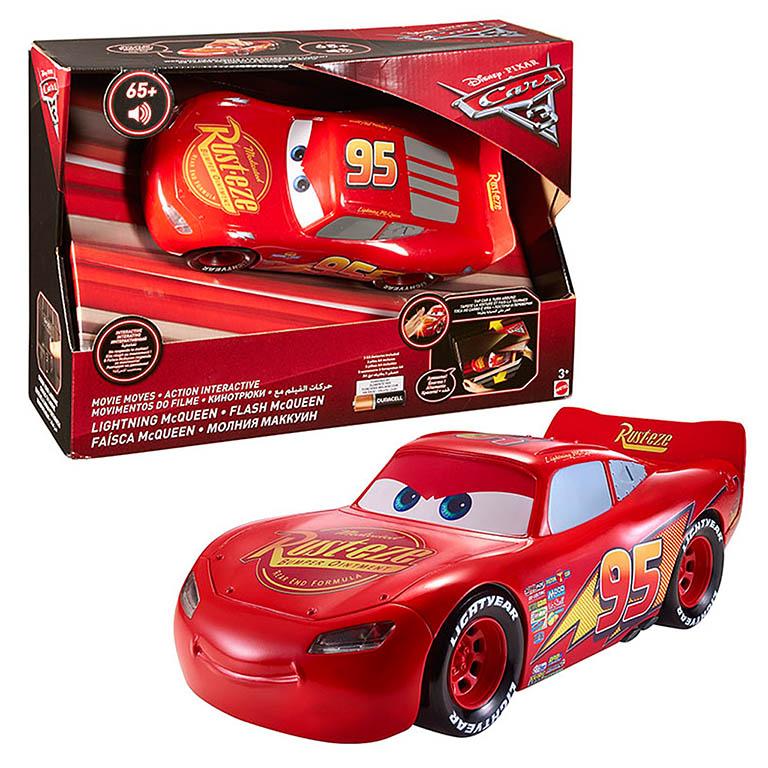 FGN54 Cars МакКвин - движущаяся модель со световыми и звуковыми эффектами