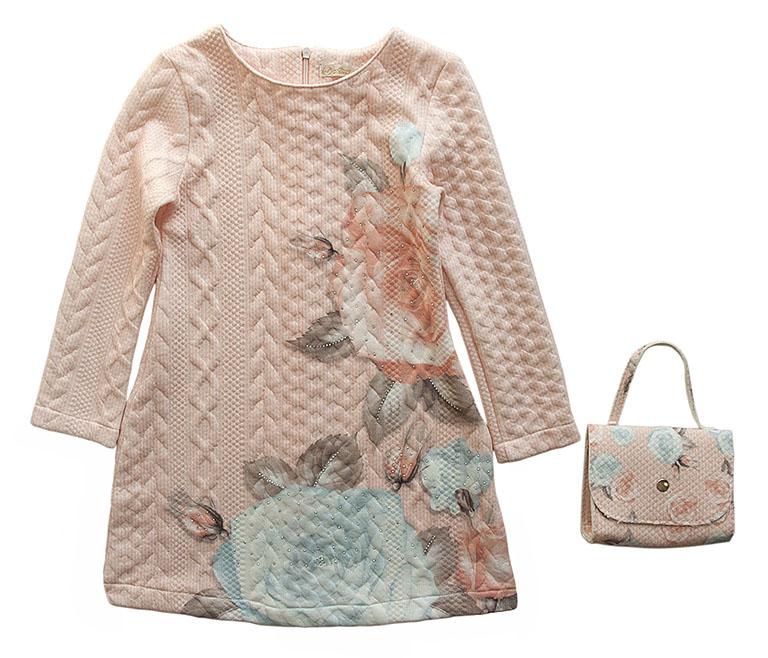 Платье с сумочкой 3819 (5-8лет)