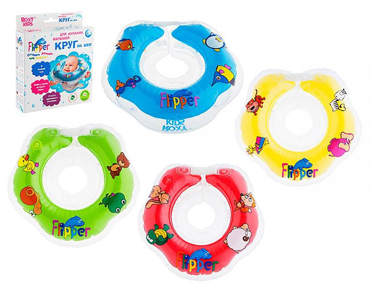 FL001 Flipper - круг на шею д/купания
