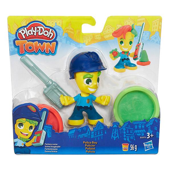 """Play-Doh  B5960 Игровой набор Город """"Фигурки"""""""
