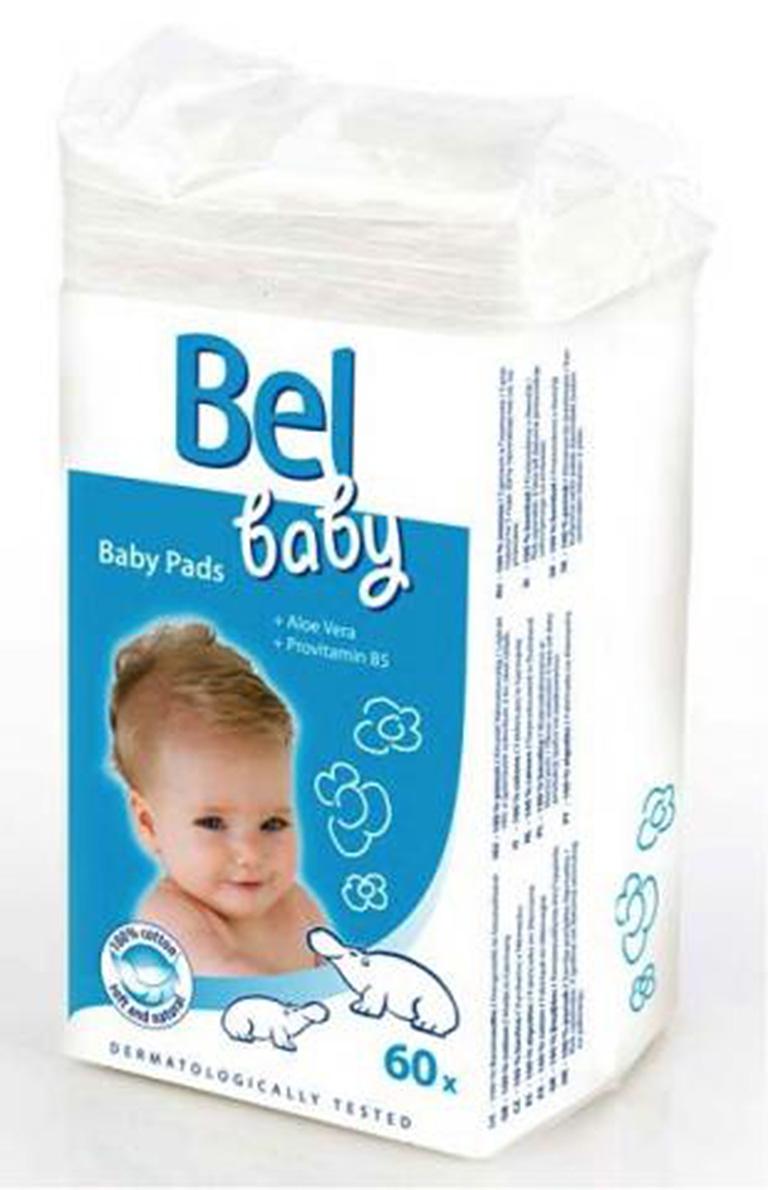 HARTMANN Bel Baby Pads детские ватные подушечки, 60шт