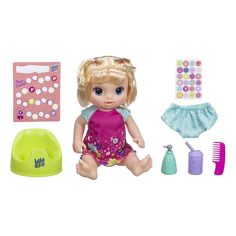 """0609Е Кукла """"Танцующая Малышка"""" Блондинка"""