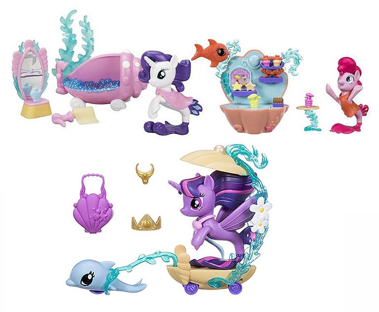 0682С Игрушка MLP Пони Подводный мир