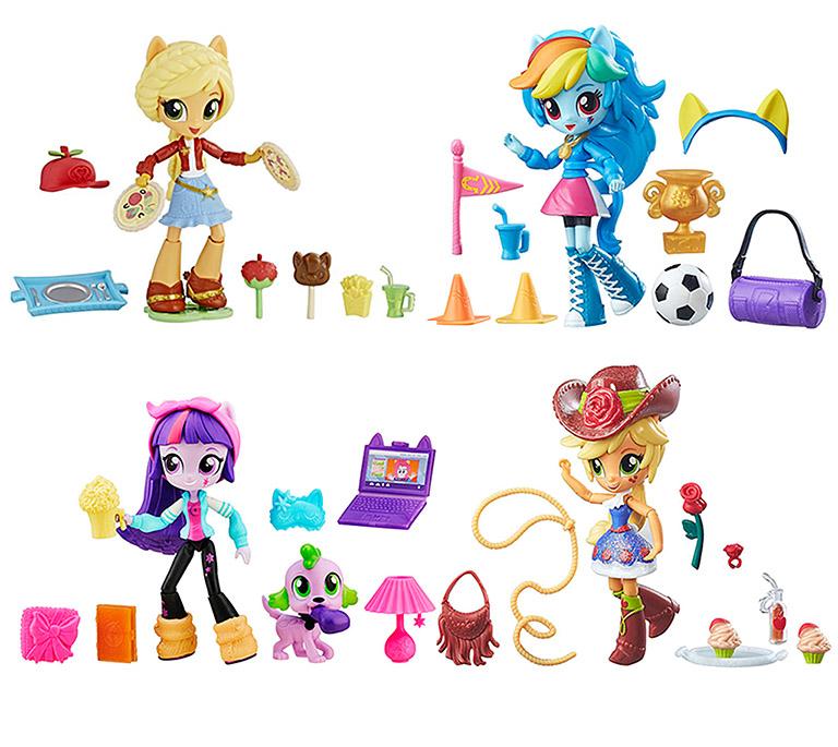 4909  Игрушка Equestria Girls мини-кукла с акс, в ассорт.