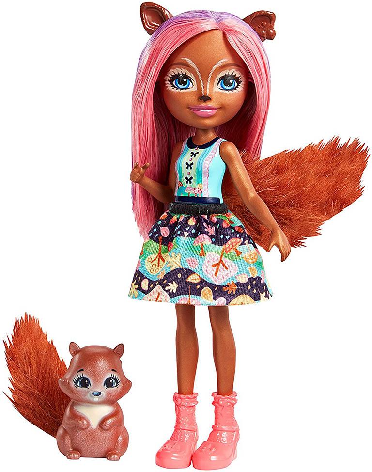 FMT61 Дополнительная кукла со зверушкой (Санча Белка)